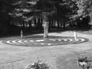 Leonard and Jenness on Labyrinth bw