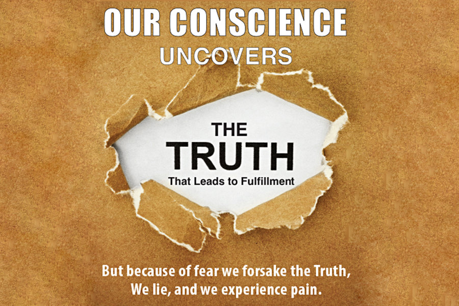 Conscience Uncovers the Truth