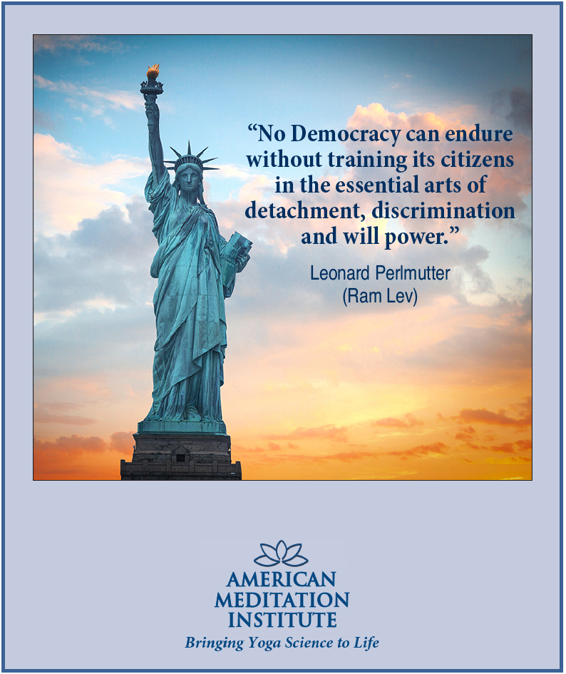 Thought of the Week No Democracy