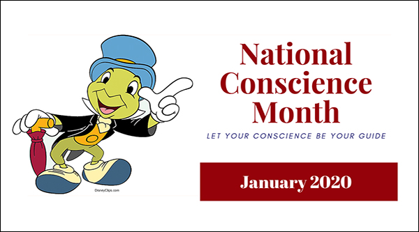 National Conscience Month home