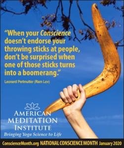 Hand holding boomerang