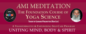 AMI Meditation Mind Body Spirit Foundation Course