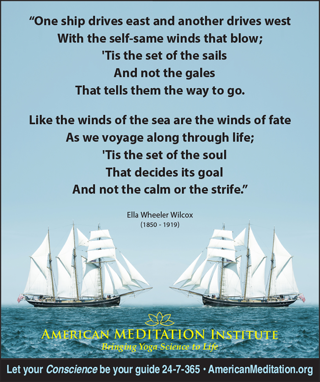 Two Ships Thought of the Week