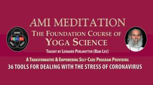 AMI Meditation Foundation Course FE