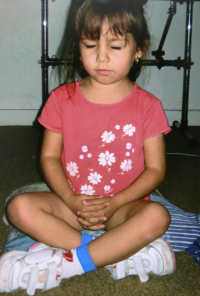 Jasmin Palermo Meditating Toddler