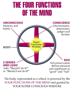 Four Functions of The Mind American Meditation Institute