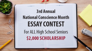 National Conscience Month Essay Scholarship 2022